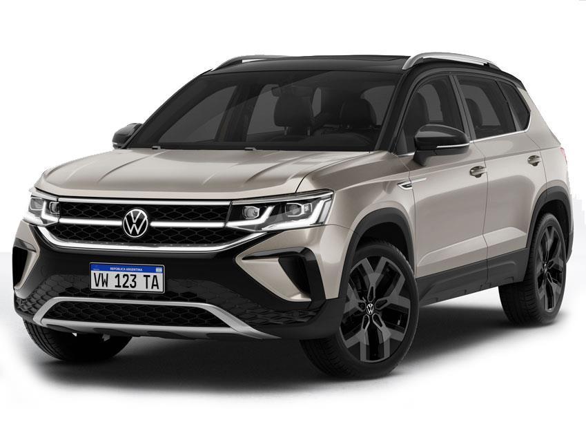 Foto Volkswagen Taos Comfortline nuevo color A eleccion precio $499,990