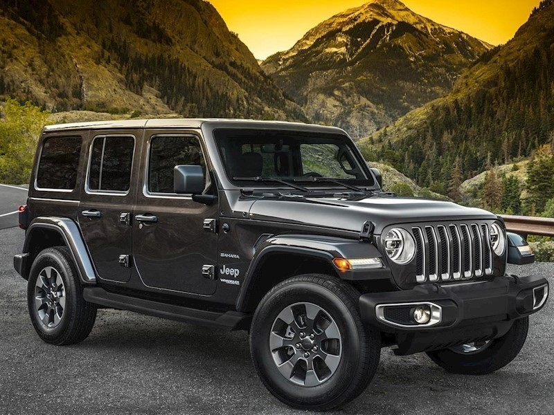 foto Jeep Wrangler 3.6L Unlimited Sahara