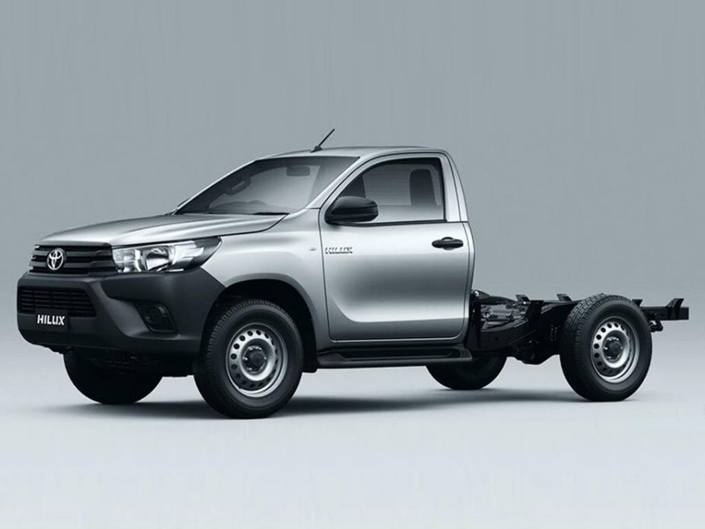 Foto Toyota Hilux 4X2 Cabina y Chasis DX 2.4 TDi nuevo color A eleccion precio $2.518.400