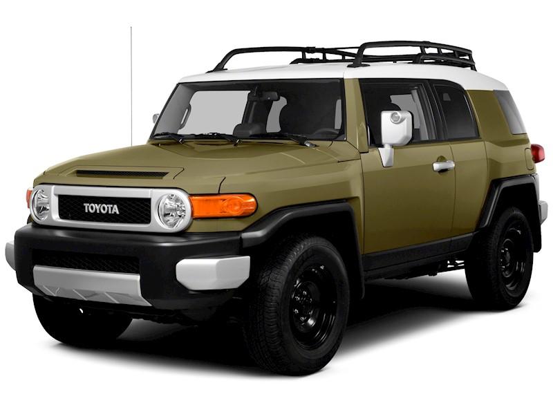 Foto Toyota FJ Cruiser 4.0L Aut nuevo color A eleccion precio $186.300.000