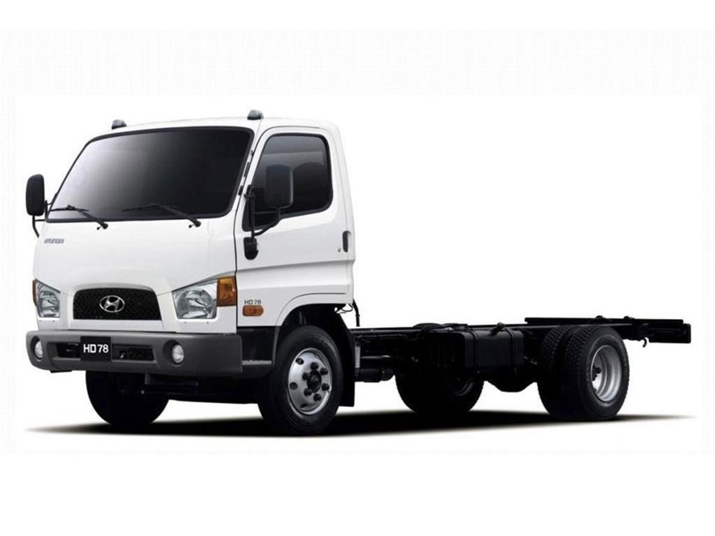 foto Hyundai HD 78 Chasis c/caja Ac 170Cv nuevo color A elección precio u$s45.000