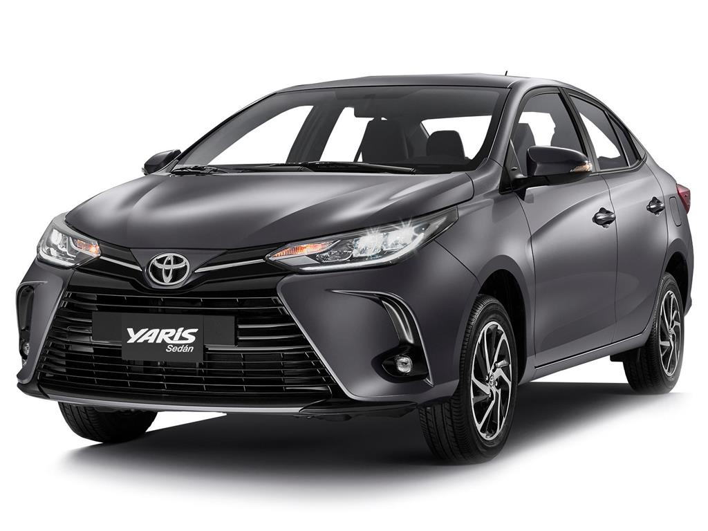 foto Toyota Yaris Sedán Core Aut nuevo color A elección precio $282,900
