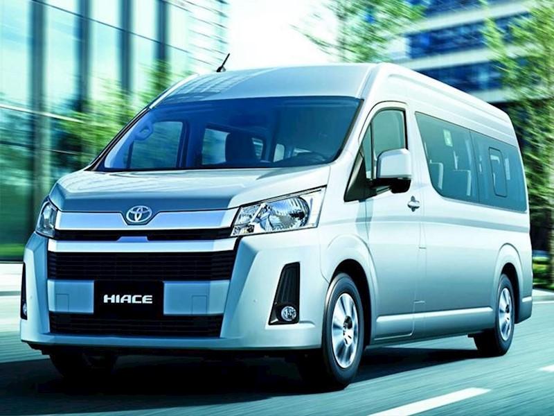 foto Toyota Hiace Commuter