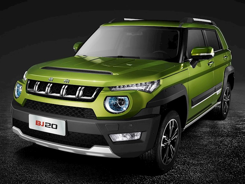 foto BAIC Bj20 Troop