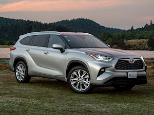 foto Toyota Highlander Limited Blue Ray (2020)