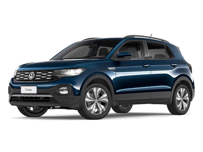 OfertaVolkswagen T-Cross Comfortline 200 TSi Aut nuevo color Azul Egeo precio $3.000.000
