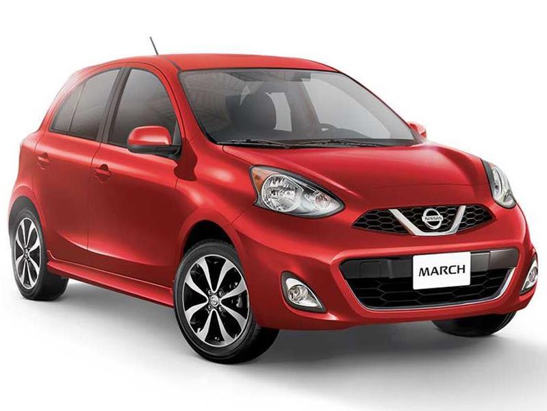 Nissan March Active Cargo Aire Ac ABS nuevo color A eleccion precio $191,900