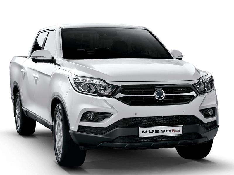 SsangYong Musso Grand 2.2L GLX 2WD Aut nuevo precio $21.408.100