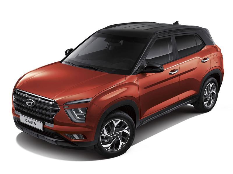 Hyundai Creta Limited Turbo nuevo color A eleccion precio $440,000