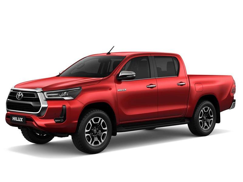 Toyota Hilux 4X4 Cabina Doble SRX 2.8 TDi Aut nuevo color A eleccion precio $6.758.000