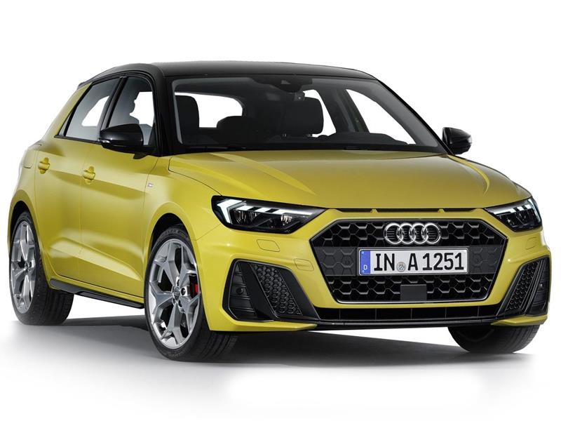 Audi A1 30 TFSI Urban   nuevo color Blanco financiado en mensualidades(enganche $94,980)