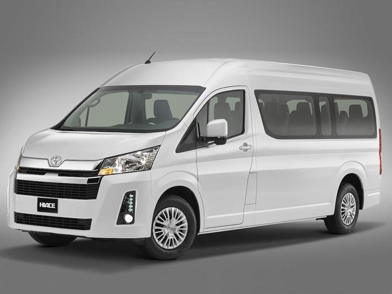 Toyota Hiace Commuter 2.8 TDI Aut 14 pas nuevo color A eleccion precio u$s45.360