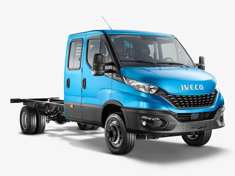 Iveco Daily Chasis Cabina Doble 55-170 6+1 nuevo color A eleccion precio $3.286.168