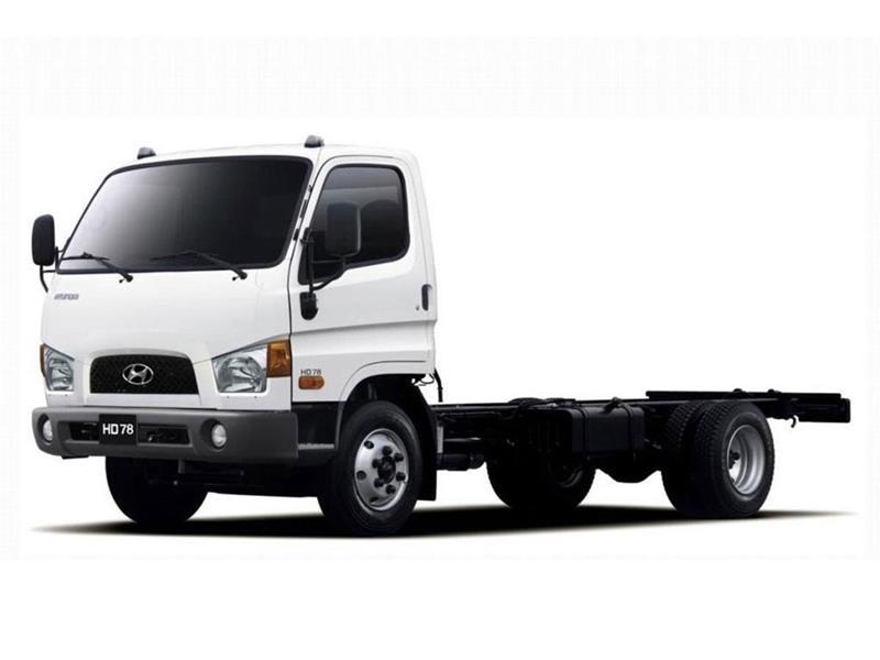 Hyundai HD 78 Chasis sin caja Ac 170Cv nuevo color A eleccion precio u$s48.000