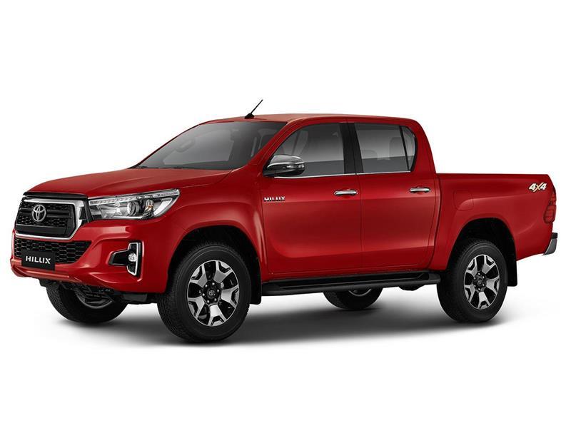 Toyota Hilux 4X4 Cabina Doble SRX 2.8 TDi Aut nuevo color A eleccion precio $5.522.000