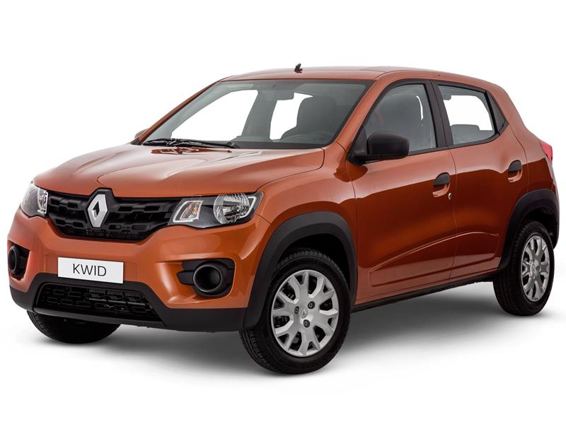 Renault Kwid Intens nuevo color A eleccion precio $187,100