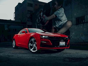 Chevrolet Camaro SS Aut financiado en mensualidades enganche $99,890 mensualidades desde $23,136