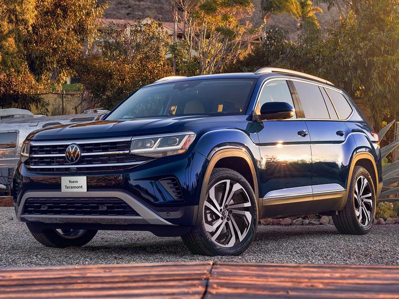 Volkswagen Teramont Trendline nuevo color A eleccion precio $789,990