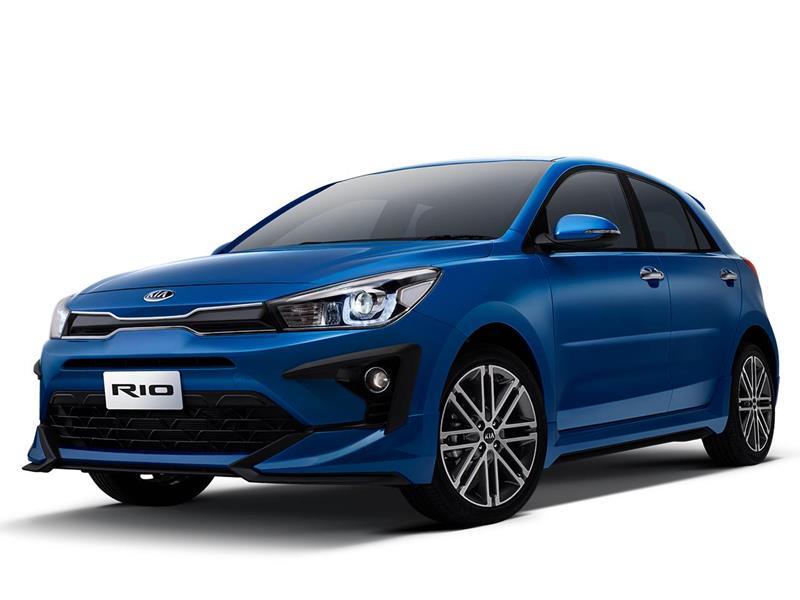 Kia Rio Hatchback LX nuevo color A eleccion precio $277,900