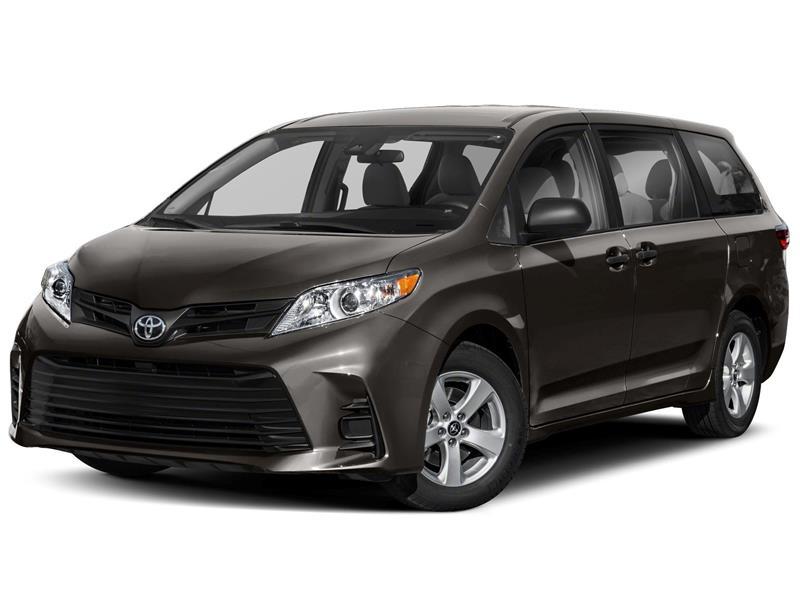 foto Toyota Sienna CE nuevo color A elección precio $566,300
