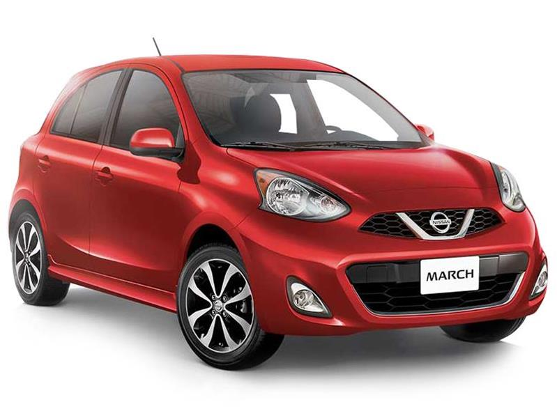 Nissan March Active  nuevo color Blanco precio $170,900