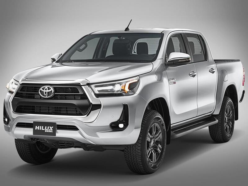 Toyota Hilux 4X2 Cabina Doble SR 2.4 TDi nuevo color A eleccion precio $355.700