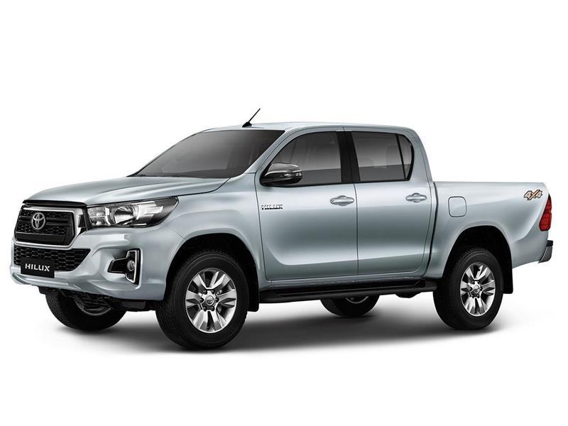 Toyota Hilux 4X4 Cabina Doble SRV 2.8 TDi Aut nuevo color A eleccion precio $4.948.000