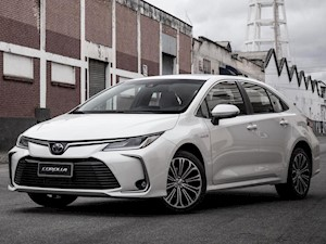 Toyota Corolla 2.0 SE-G CVT nuevo color A eleccion precio $2.017.600