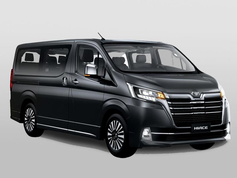 Toyota Hiace Wagon 2.8 TDI Aut 10 pas nuevo color A eleccion precio u$s56.500
