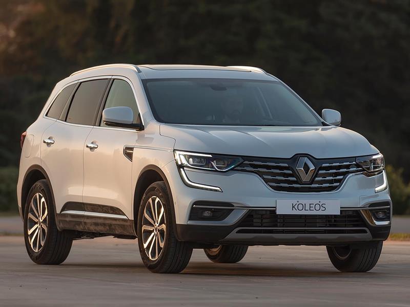 Renault Koleos Intens 2.5 4x4 CVT nuevo color A eleccion precio $3.773.600