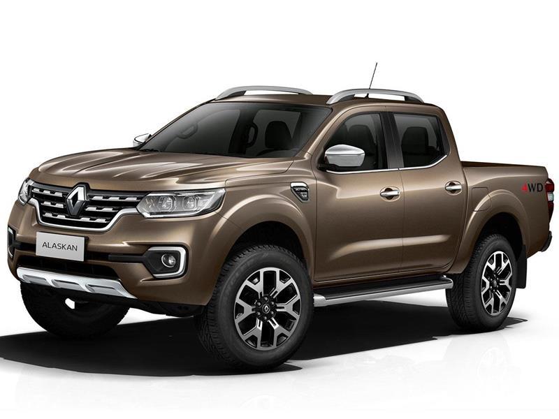 Renault Alaskan Intens 4x2 nuevo financiado en cuotas(anticipo $1.826.650 cuotas desde $26.000)