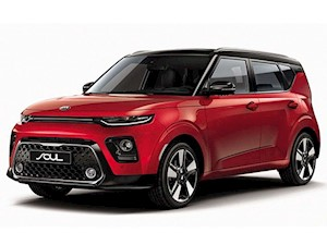 foto Kia Soul 1.6L EX Bi-Color Red (2019)