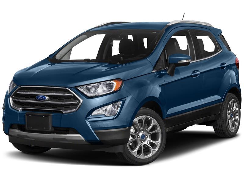 Ford Ecosport Trend nuevo financiado en mensualidades(enganche $118,300 mensualidades desde $3,860)