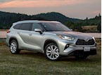 foto Toyota Highlander Limited Blue Ray