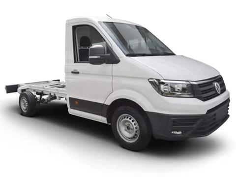 foto Volkswagen Crafter Chasis Cabina 3.5T MWB