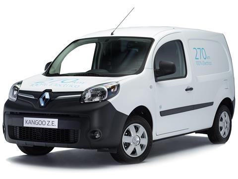 foto Renault Kangoo Z.E. Cargo Maxi