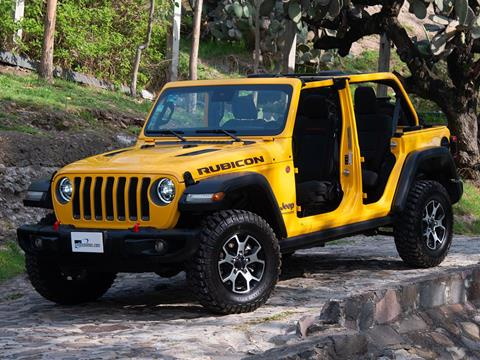 foto Jeep Wrangler Unlimited Rubicon De Luxe Pack 4x4 3.6L Aut