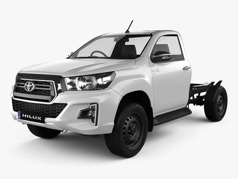 Toyota Hilux 4X2 Cabina y Chasis DX 2.4 TDi