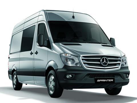 foto Mercedes Sprinter Furgón 316 3665 V2 TE 2+1