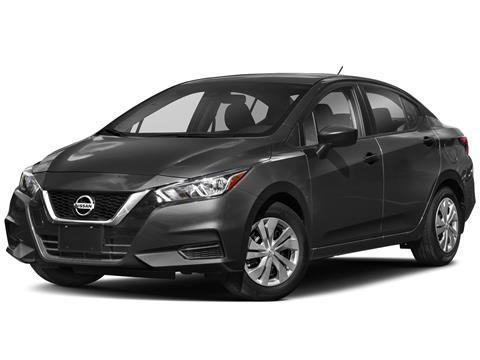 foto Nissan Versa Sense financiado en mensualidades mensualidades desde $3,599