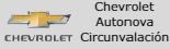 Logo Chevrolet Autonova Circunvalación