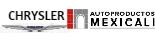 Logo Chrysler Autoproductos Mexicali