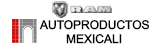 Logo RAM Autoproductos Mexicali