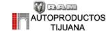 Logo RAM Autoproductos Tijuana