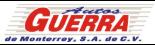 Logo Autos Guerra Monterrey S.A.de C.V.