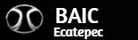 Logo BAIC Ecatepec