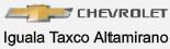 Logo Chevrolet Iguala