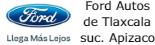 Logo Ford Autos de Tlaxcala suc. Apizaco