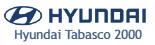 Logo Hyundai Tabasco 2000