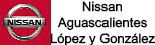 Logo Nissan Aguascalientes López y González